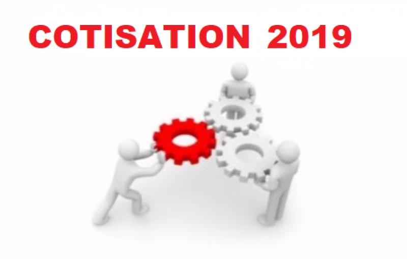 Cotisation 2019